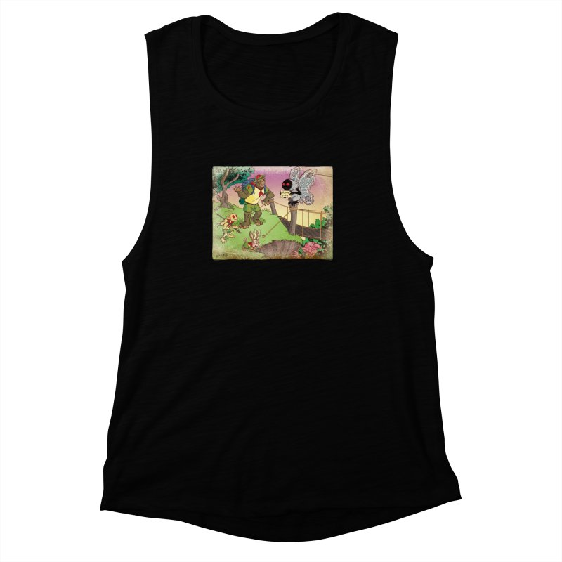 Campfire Mythology 3 Women's Muscle Tank by Twin Comics's Artist Shop