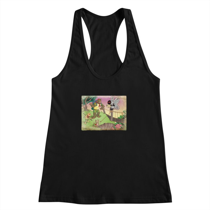 Campfire Mythology 3 Women's Racerback Tank by Twin Comics's Artist Shop