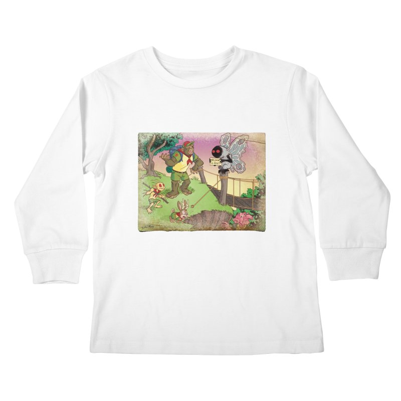 Campfire Mythology 3 Kids Longsleeve T-Shirt by Twin Comics's Artist Shop
