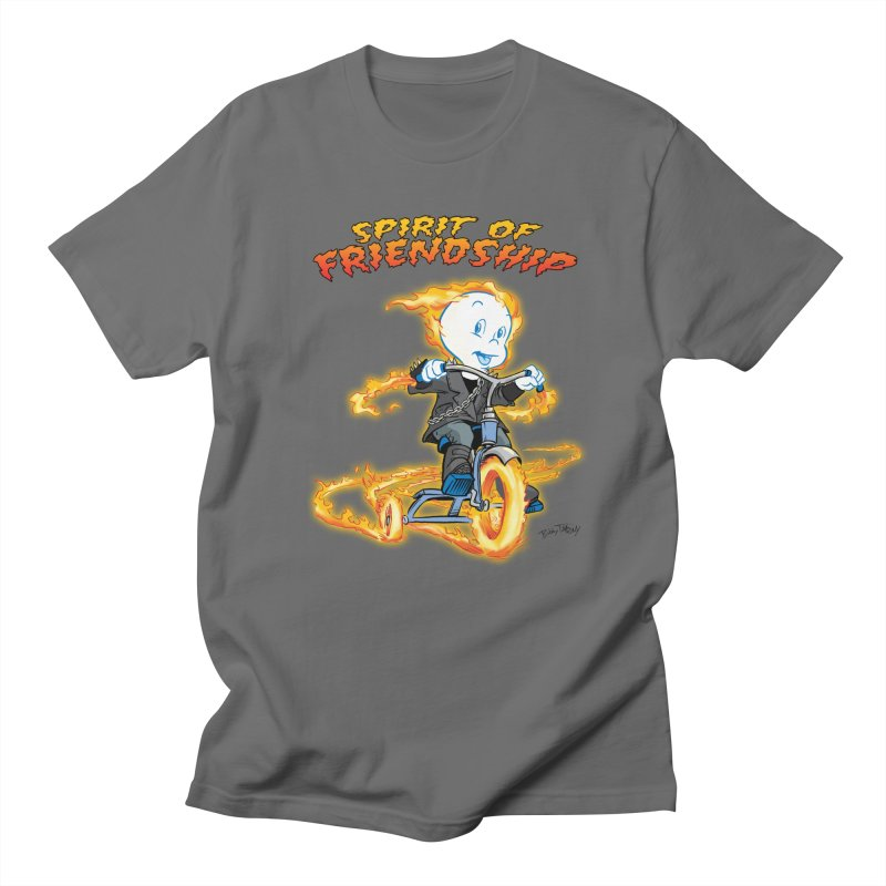 Spirit of Friendship Men's T-Shirt by Twin Comics's Artist Shop