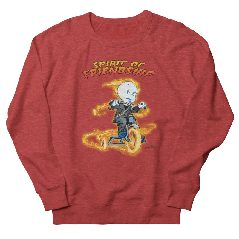 Spirit of Friendship Women's Sweatshirt by Twin Comics's Artist Shop