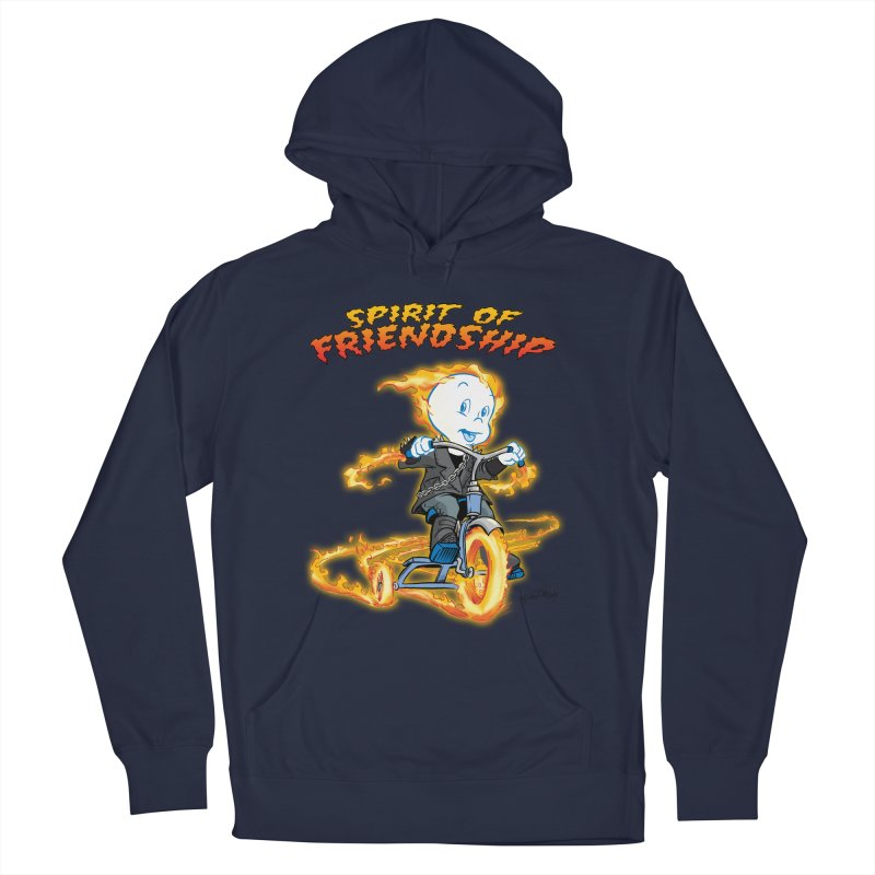 Spirit of Friendship Women's French Terry Pullover Hoody by Twin Comics's Artist Shop