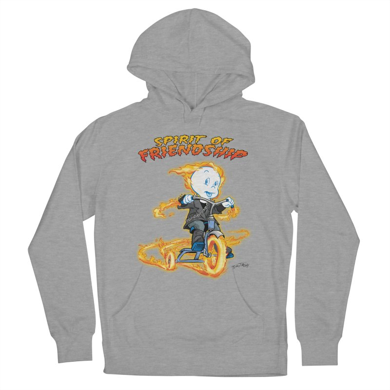 Spirit of Friendship Men's French Terry Pullover Hoody by Twin Comics's Artist Shop