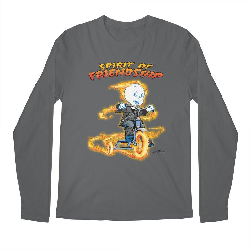 Spirit of Friendship Men's Longsleeve T-Shirt by Twin Comics's Artist Shop