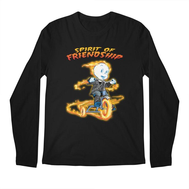 Spirit of Friendship Men's Regular Longsleeve T-Shirt by Twin Comics's Artist Shop