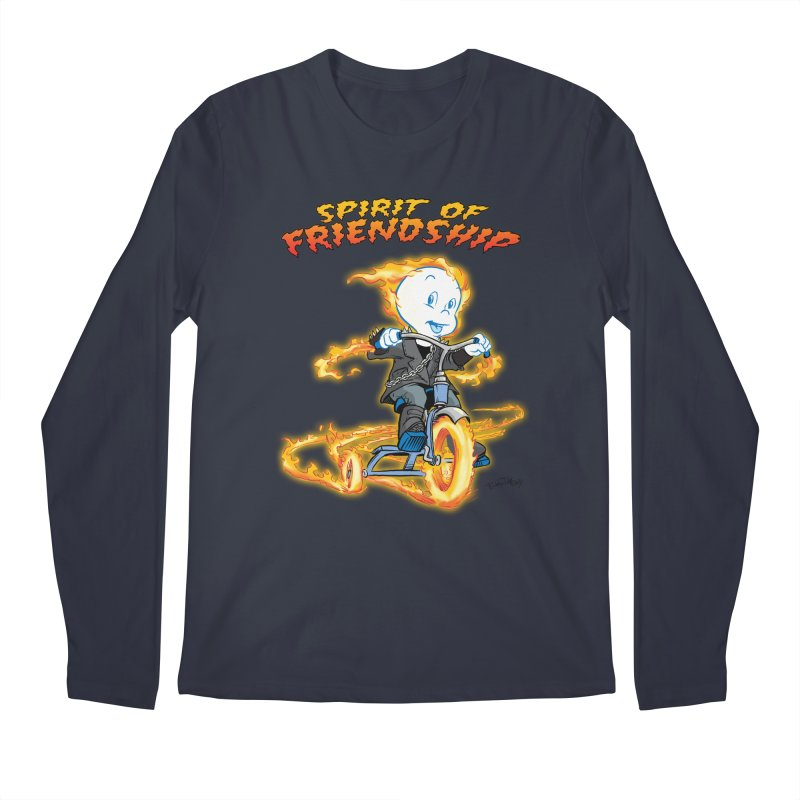 Spirit of Friendship Men's Regular Longsleeve T-Shirt by Twin Comics's Artist Shop