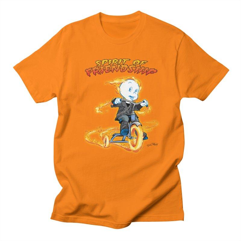 Spirit of Friendship Men's Regular T-Shirt by Twin Comics's Artist Shop