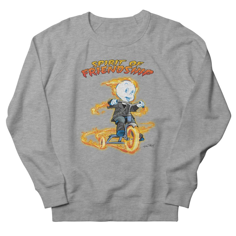 Spirit of Friendship Women's French Terry Sweatshirt by Twin Comics's Artist Shop