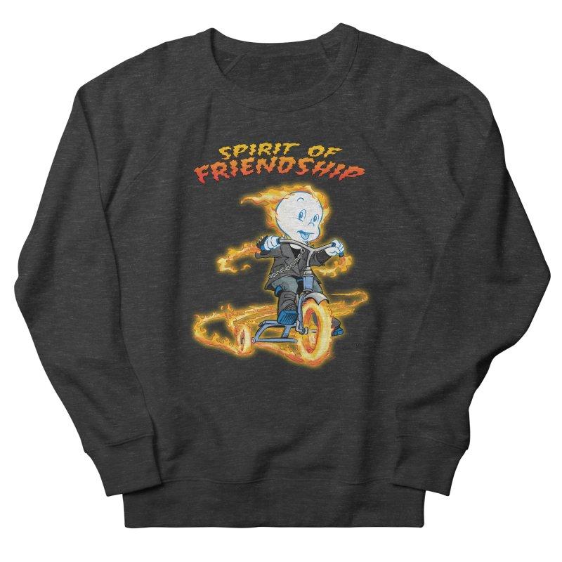 Spirit of Friendship Men's French Terry Sweatshirt by Twin Comics's Artist Shop