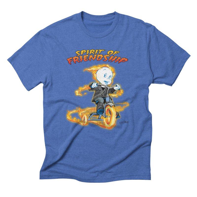 Spirit of Friendship Men's T-Shirt by Twin Comics's Artist Shop