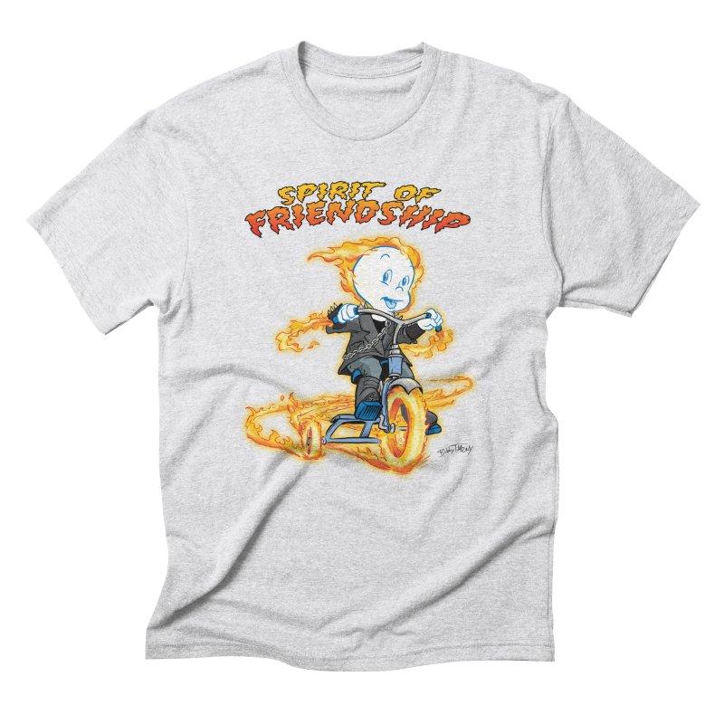 Spirit of Friendship Men's Triblend T-Shirt by Twin Comics's Artist Shop