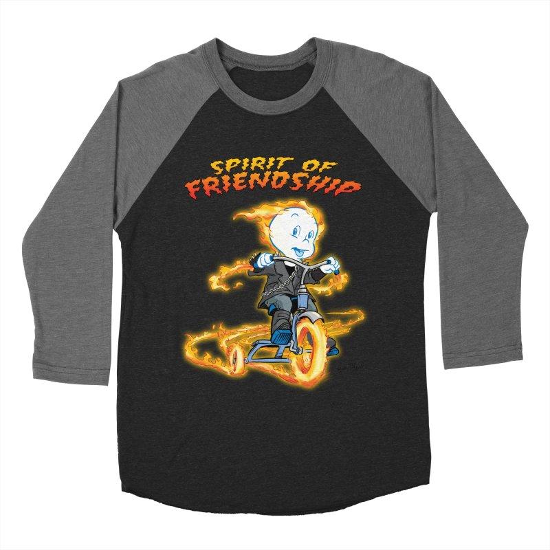 Spirit of Friendship Women's Baseball Triblend Longsleeve T-Shirt by Twin Comics's Artist Shop