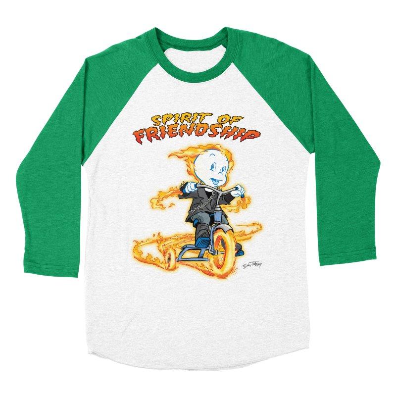 Spirit of Friendship Men's Baseball Triblend Longsleeve T-Shirt by Twin Comics's Artist Shop
