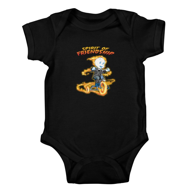 Spirit of Friendship Kids Baby Bodysuit by Twin Comics's Artist Shop