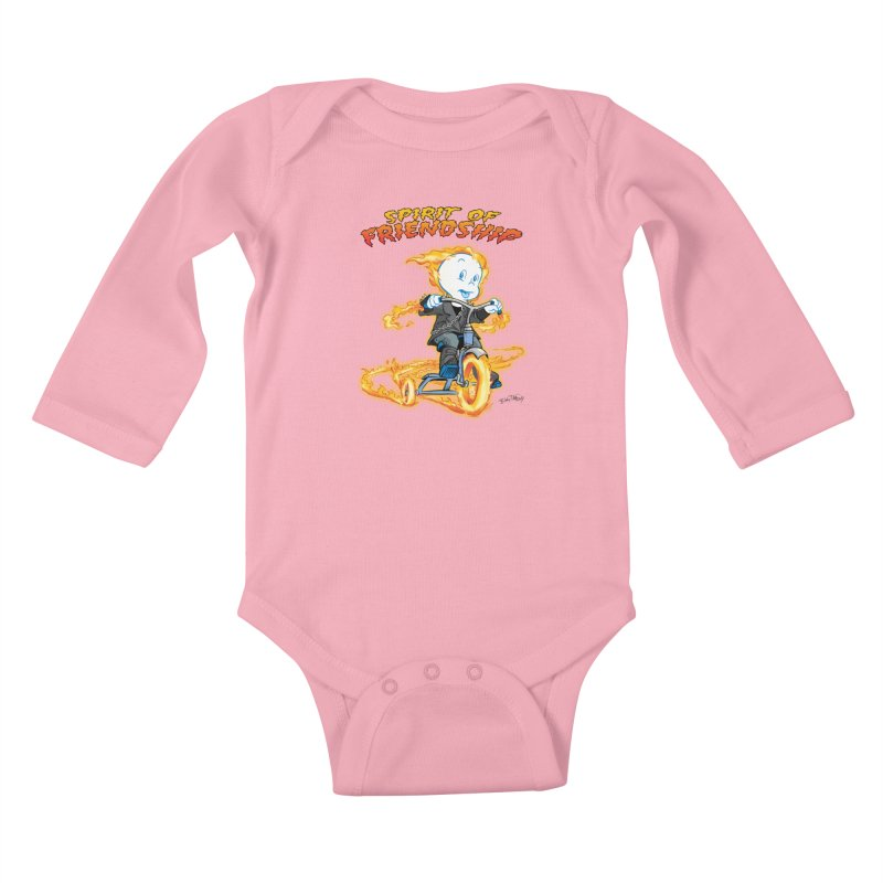 Spirit of Friendship Kids Baby Longsleeve Bodysuit by Twin Comics's Artist Shop