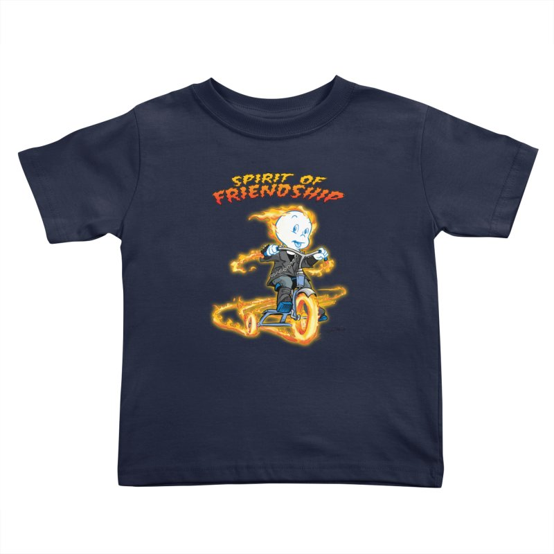 Spirit of Friendship Kids Toddler T-Shirt by Twin Comics's Artist Shop