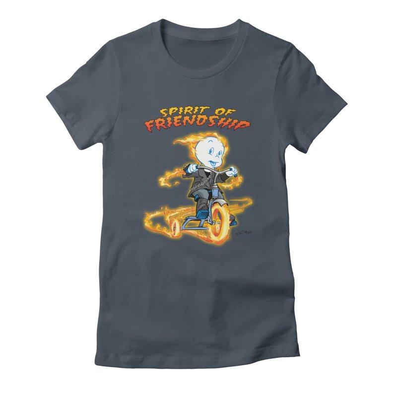 Spirit of Friendship Women's T-Shirt by Twin Comics's Artist Shop