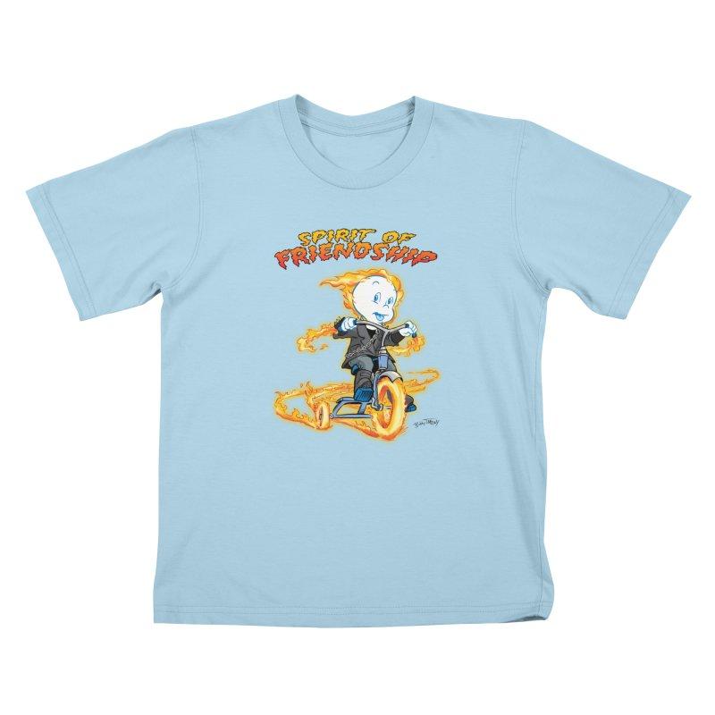 Spirit of Friendship Kids T-Shirt by Twin Comics's Artist Shop
