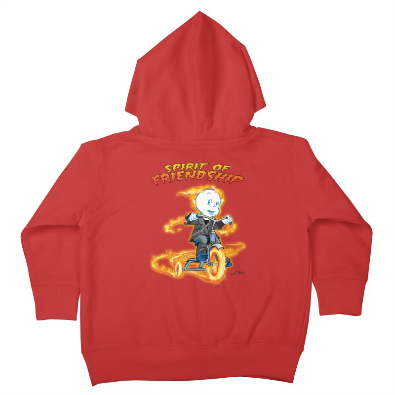 Spirit of Friendship Kids Toddler Zip-Up Hoody by Twin Comics's Artist Shop