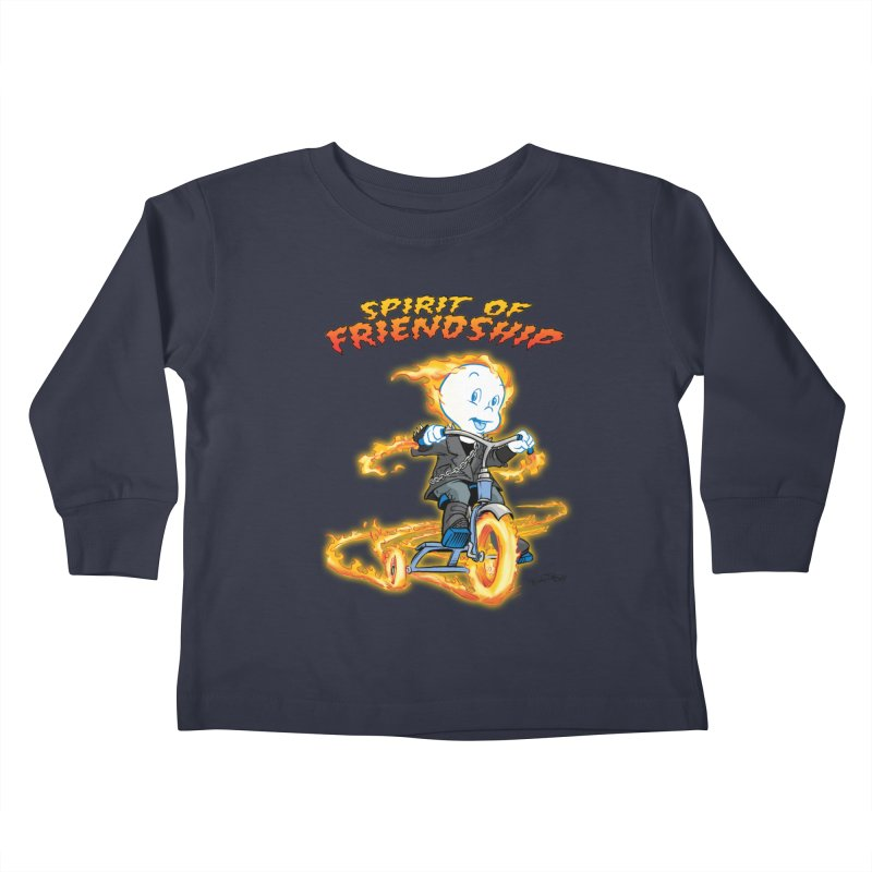 Spirit of Friendship Kids Toddler Longsleeve T-Shirt by Twin Comics's Artist Shop
