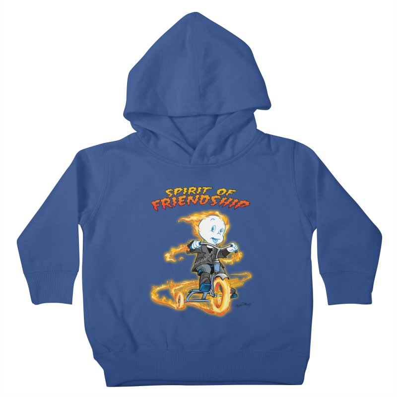 Spirit of Friendship Kids Toddler Pullover Hoody by Twin Comics's Artist Shop