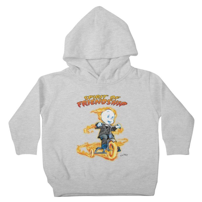Spirit of Friendship Kids Toddler Pullover Hoody by Twin Comics's Artist Shop