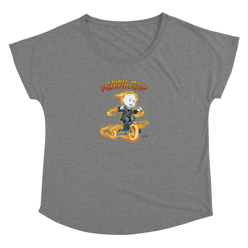 Spirit of Friendship Women's Scoop Neck by Twin Comics's Artist Shop