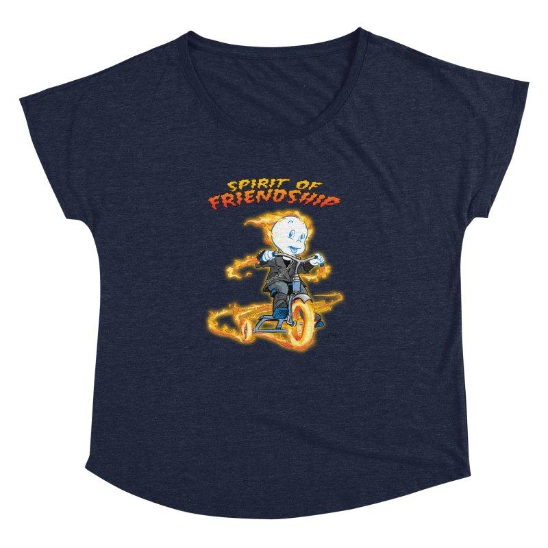 Spirit of Friendship Women's Dolman Scoop Neck by Twin Comics's Artist Shop
