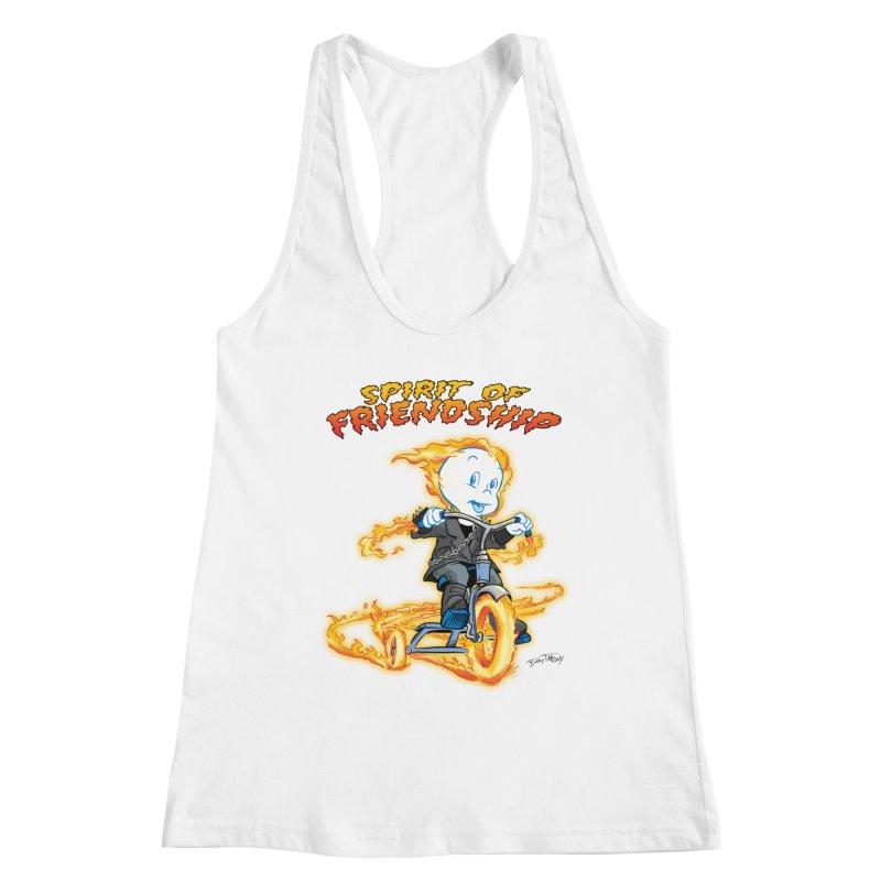 Spirit of Friendship Women's Racerback Tank by Twin Comics's Artist Shop