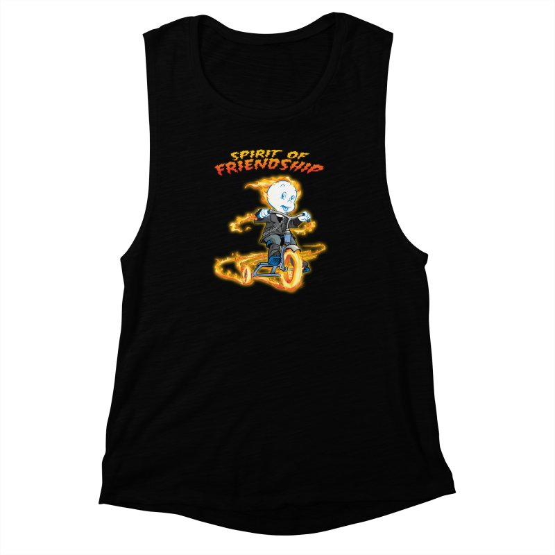 Spirit of Friendship Women's Muscle Tank by Twin Comics's Artist Shop