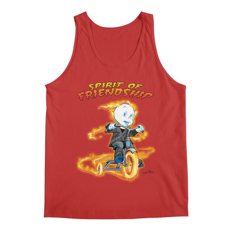 Spirit of Friendship Men's Regular Tank by Twin Comics's Artist Shop