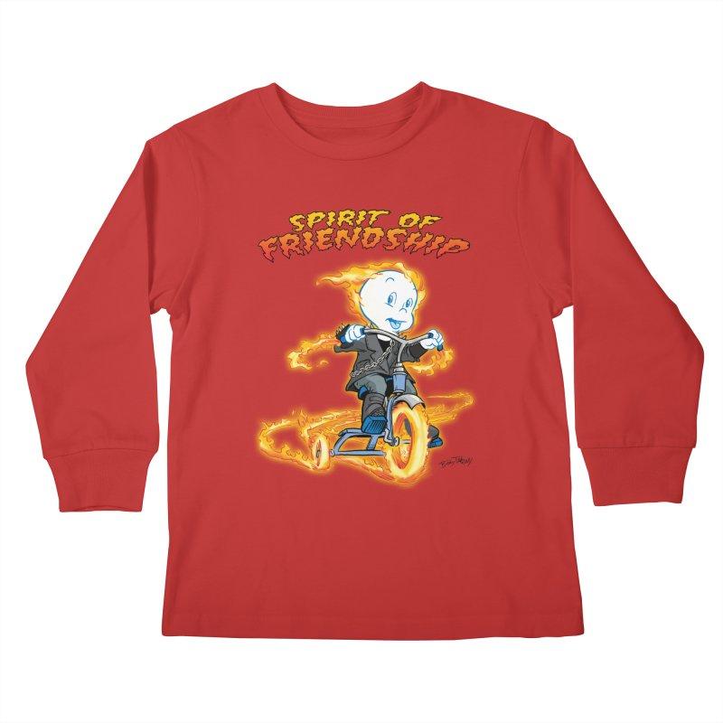 Spirit of Friendship Kids Longsleeve T-Shirt by Twin Comics's Artist Shop