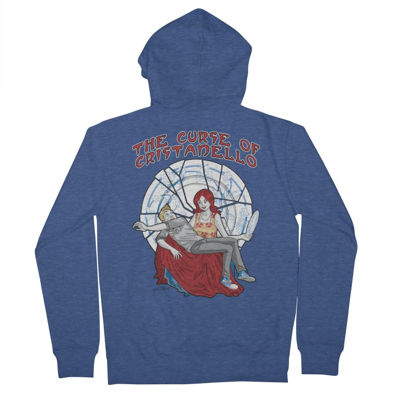 The Curse of Cristanello Women's French Terry Zip-Up Hoody by Twin Comics's Artist Shop