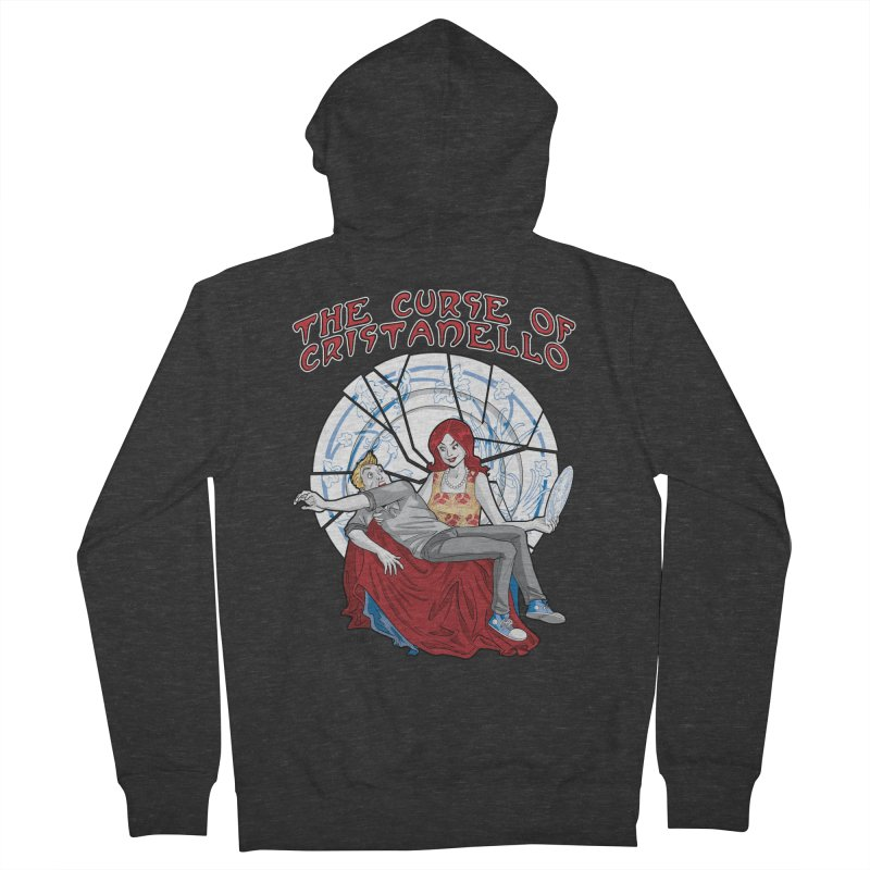The Curse of Cristanello Men's French Terry Zip-Up Hoody by Twin Comics's Artist Shop