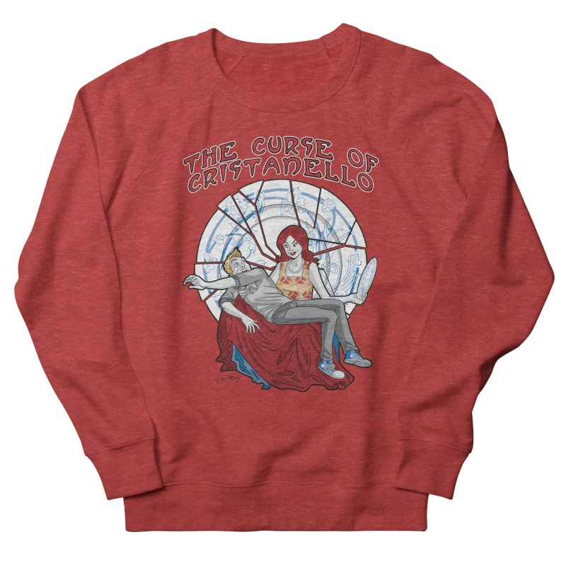 The Curse of Cristanello Women's French Terry Sweatshirt by Twin Comics's Artist Shop