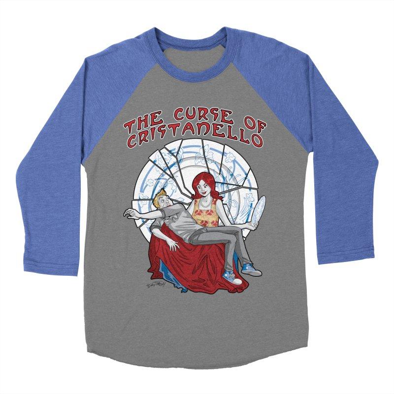 The Curse of Cristanello Women's Baseball Triblend Longsleeve T-Shirt by Twin Comics's Artist Shop