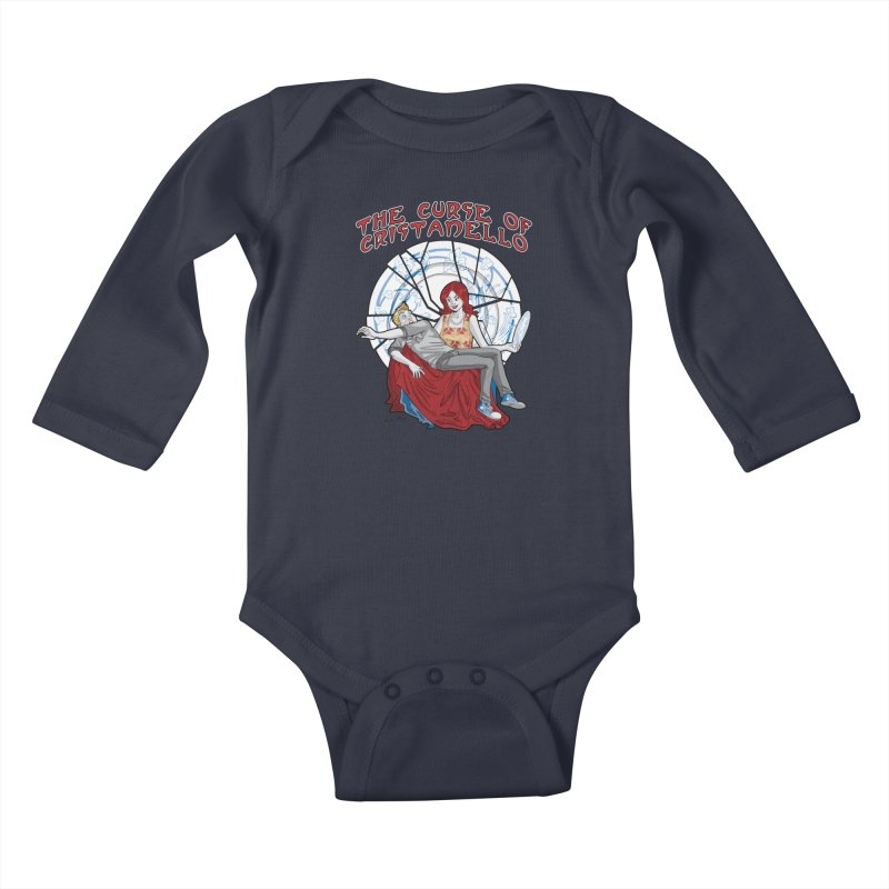 The Curse of Cristanello Kids Baby Longsleeve Bodysuit by Twin Comics's Artist Shop
