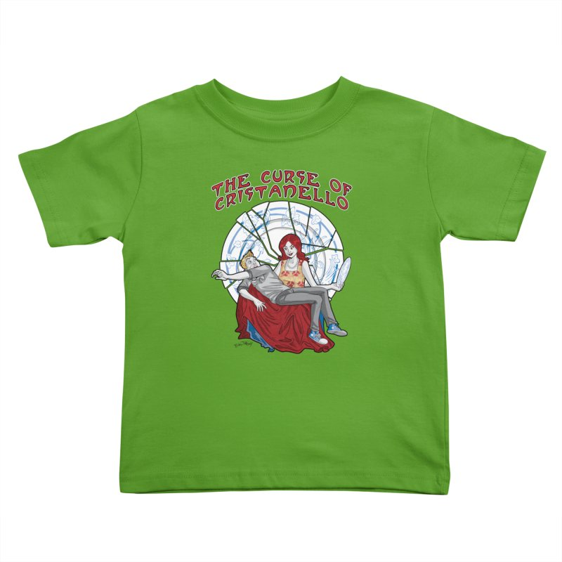 The Curse of Cristanello Kids Toddler T-Shirt by Twin Comics's Artist Shop