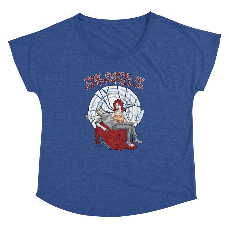 The Curse of Cristanello Women's Dolman Scoop Neck by Twin Comics's Artist Shop