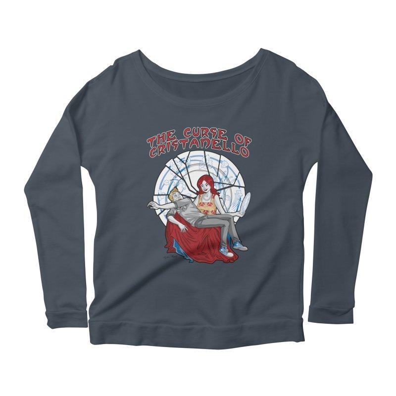 The Curse of Cristanello Women's Scoop Neck Longsleeve T-Shirt by Twin Comics's Artist Shop