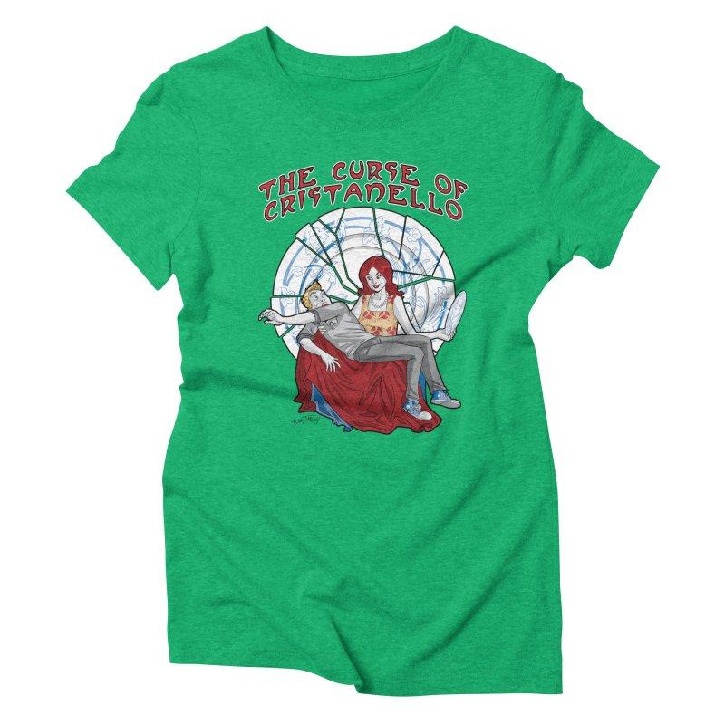 The Curse of Cristanello Women's Triblend T-Shirt by Twin Comics's Artist Shop