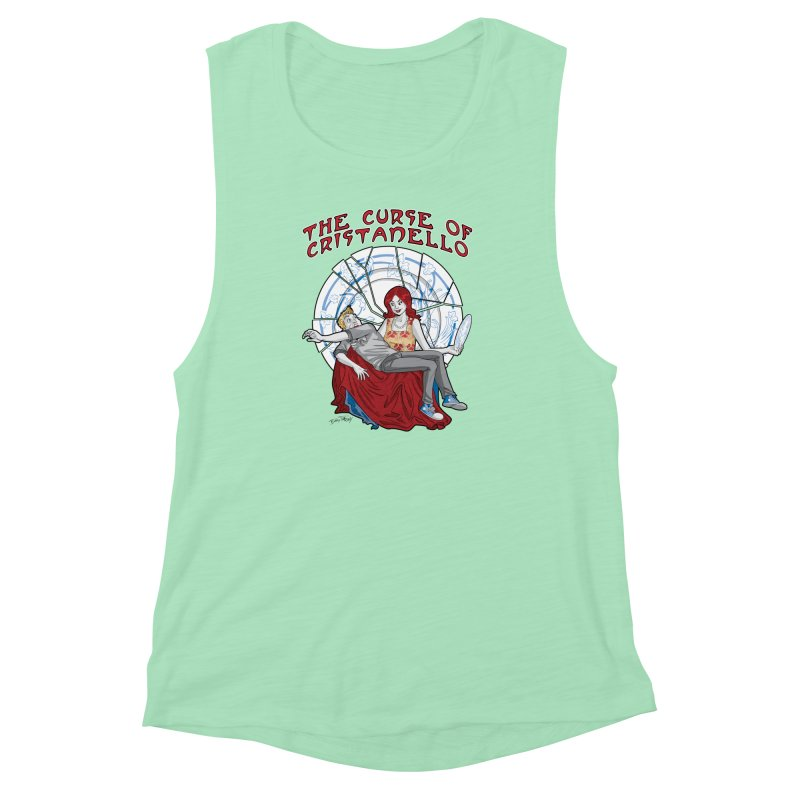 The Curse of Cristanello Women's Muscle Tank by Twin Comics's Artist Shop