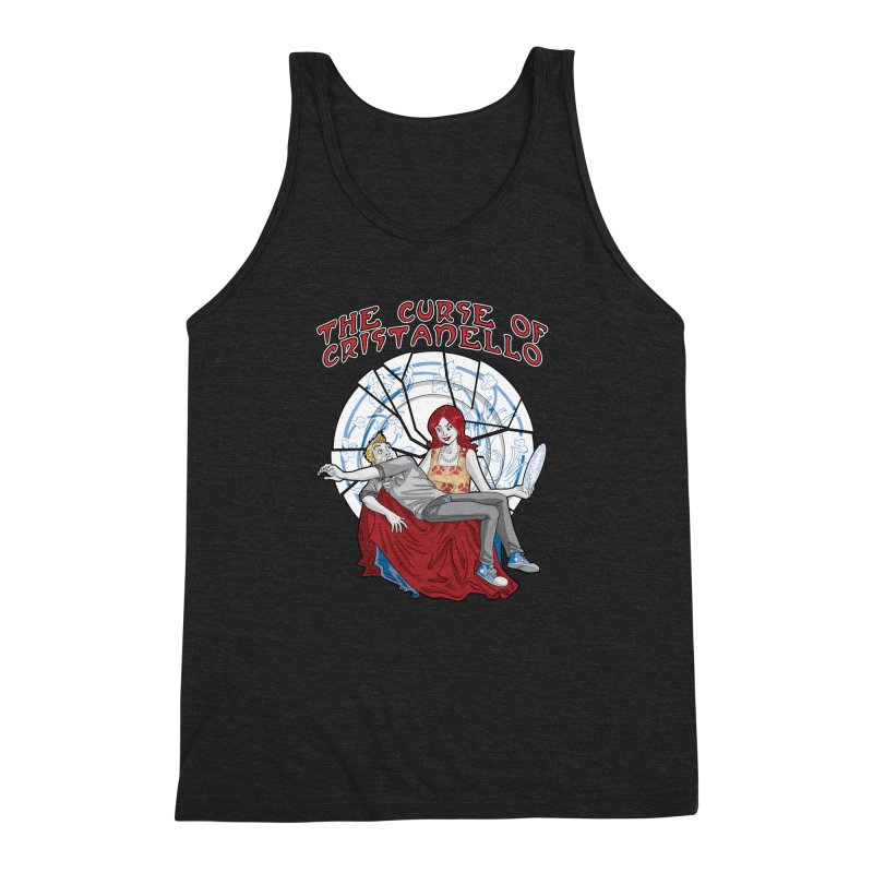 The Curse of Cristanello Men's Triblend Tank by Twin Comics's Artist Shop