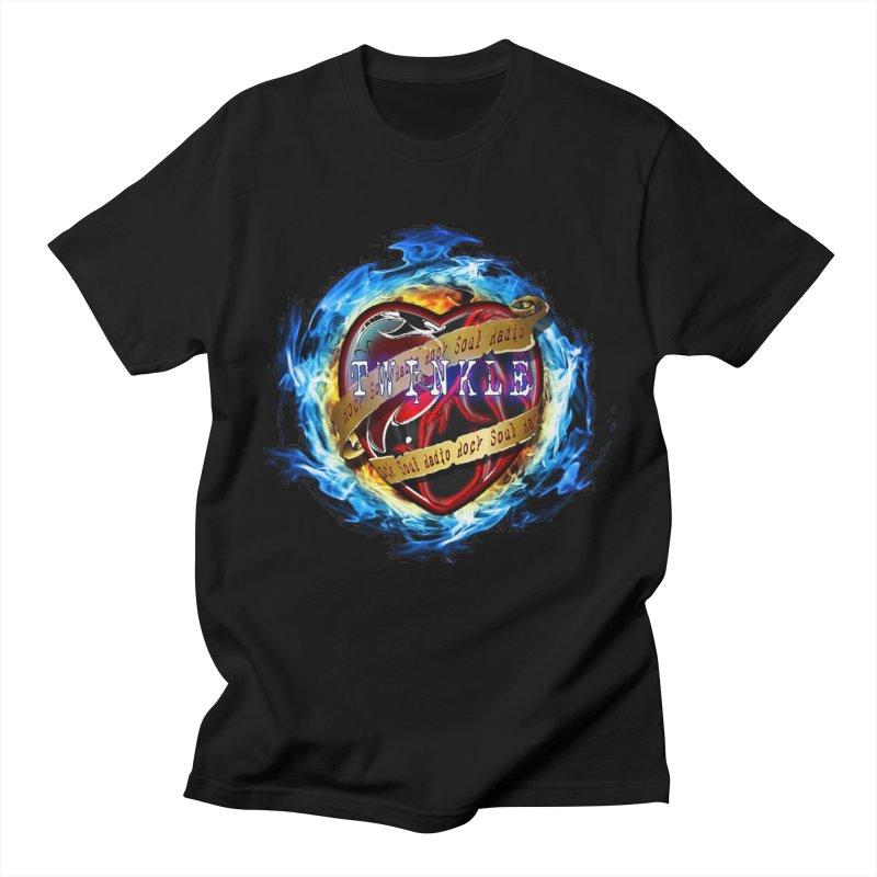 Burningheart Men's T-Shirt by Twinkle's Artist Shop
