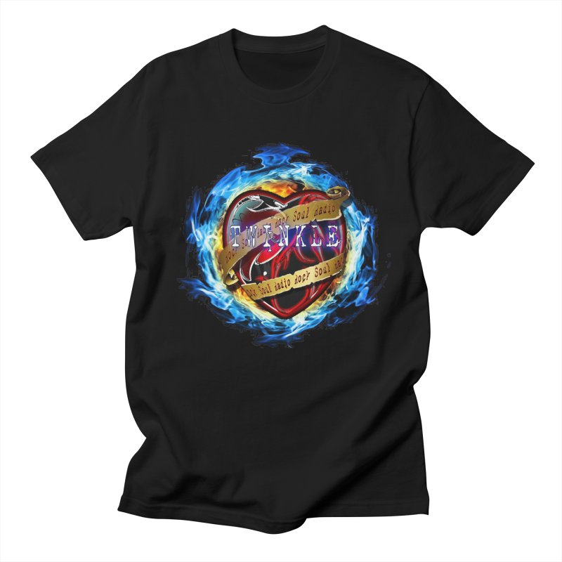 Burningheart Men's T-Shirt by Twinkle's Artist Shop