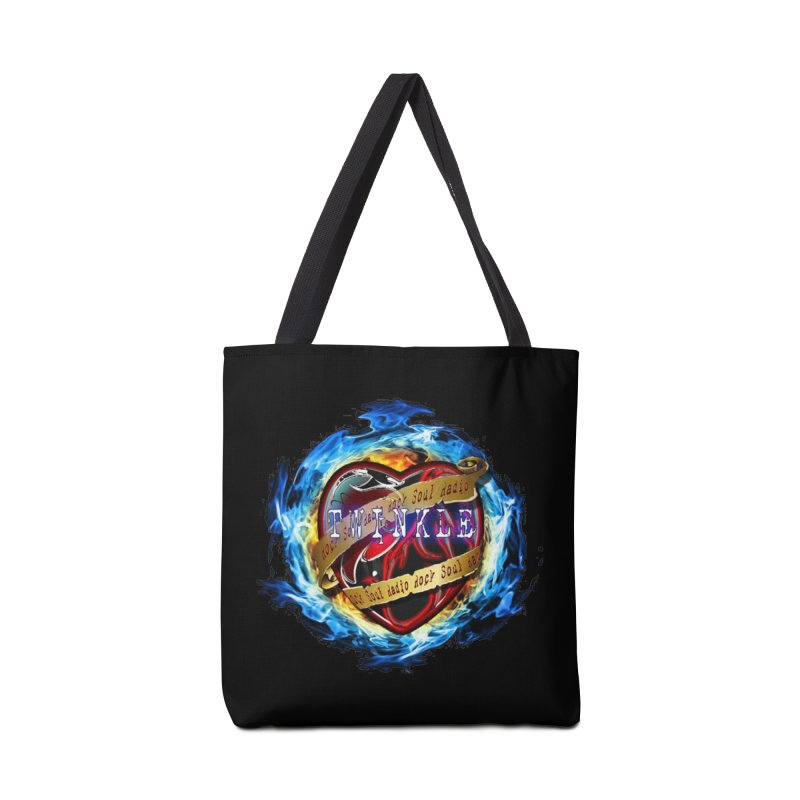 Burningheart Accessories Bag by Twinkle's Artist Shop