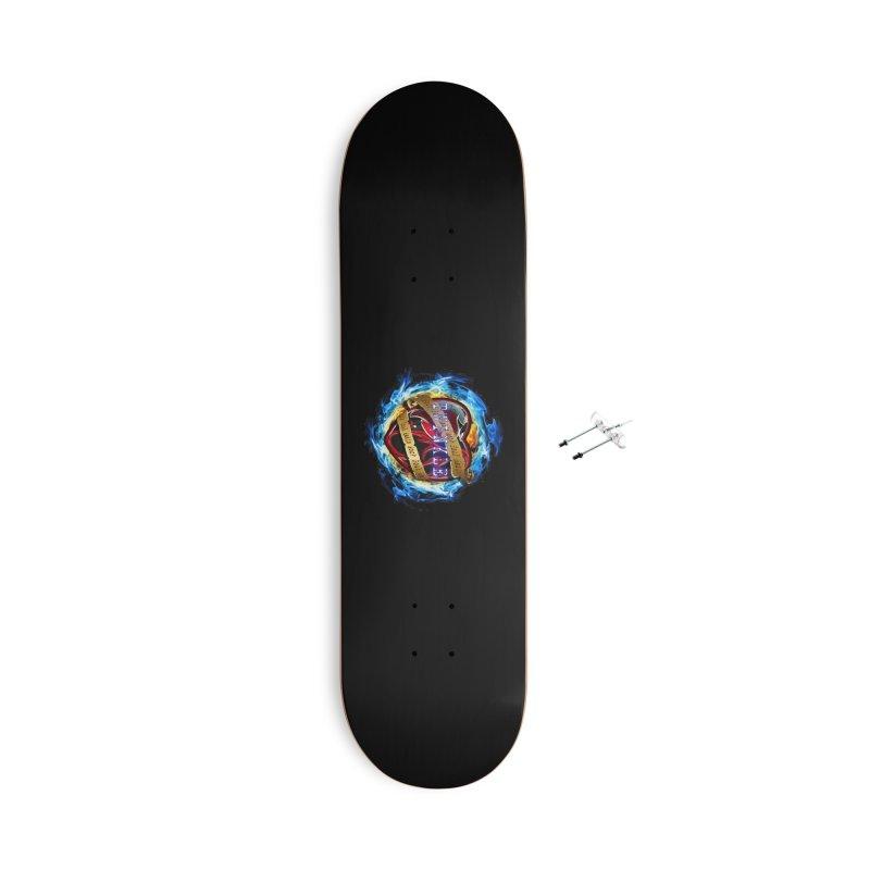 Burningheart Accessories Skateboard by Twinkle's Artist Shop