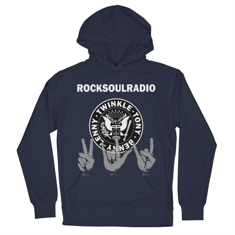 RSR logo Men's French Terry Pullover Hoody by Twinkle's Artist Shop