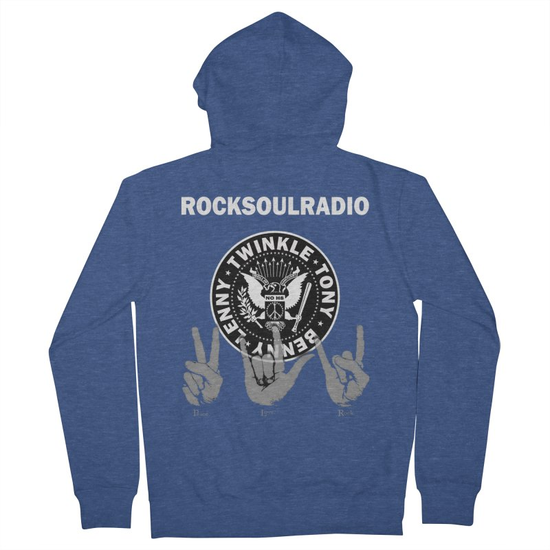 RSR logo Women's French Terry Zip-Up Hoody by Twinkle's Artist Shop