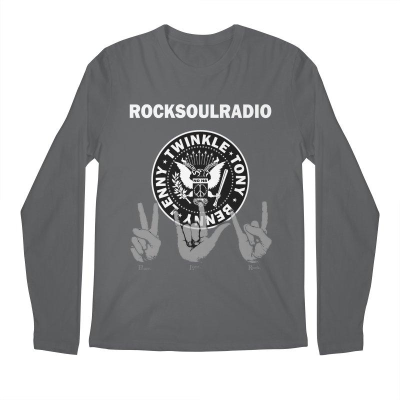 RSR logo Men's Regular Longsleeve T-Shirt by Twinkle's Artist Shop